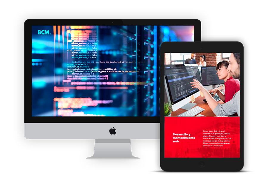 BCM Marketing Digital - Marketing 360 - Desarrollo y mantenimiento web