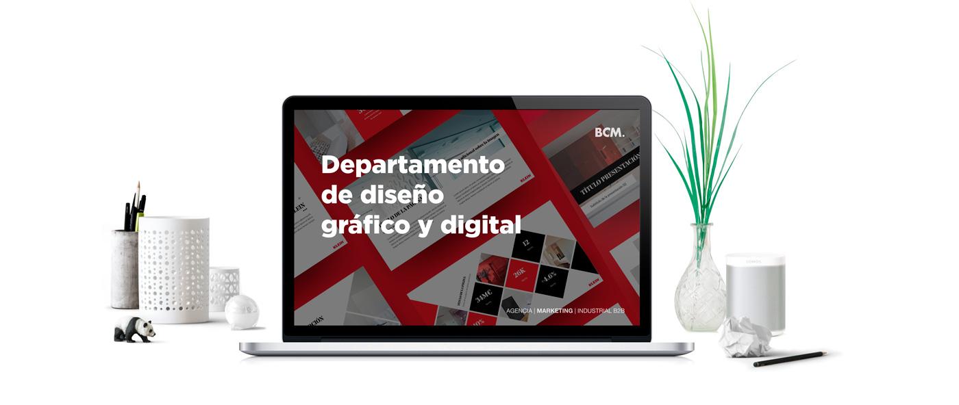 Diseño Gráfico y Digital - BCM Marketing B2B