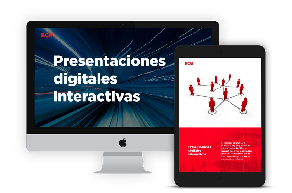 Presentaciones digitales - BCM Marketing B2B