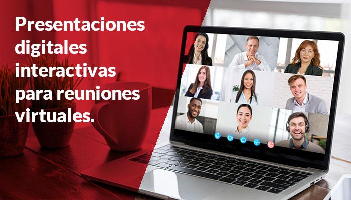 Presentaciones digitales interactivas