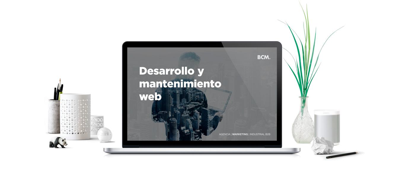 Desarrollo y diseño web - Marketing 360 - BCM Marketing B2B