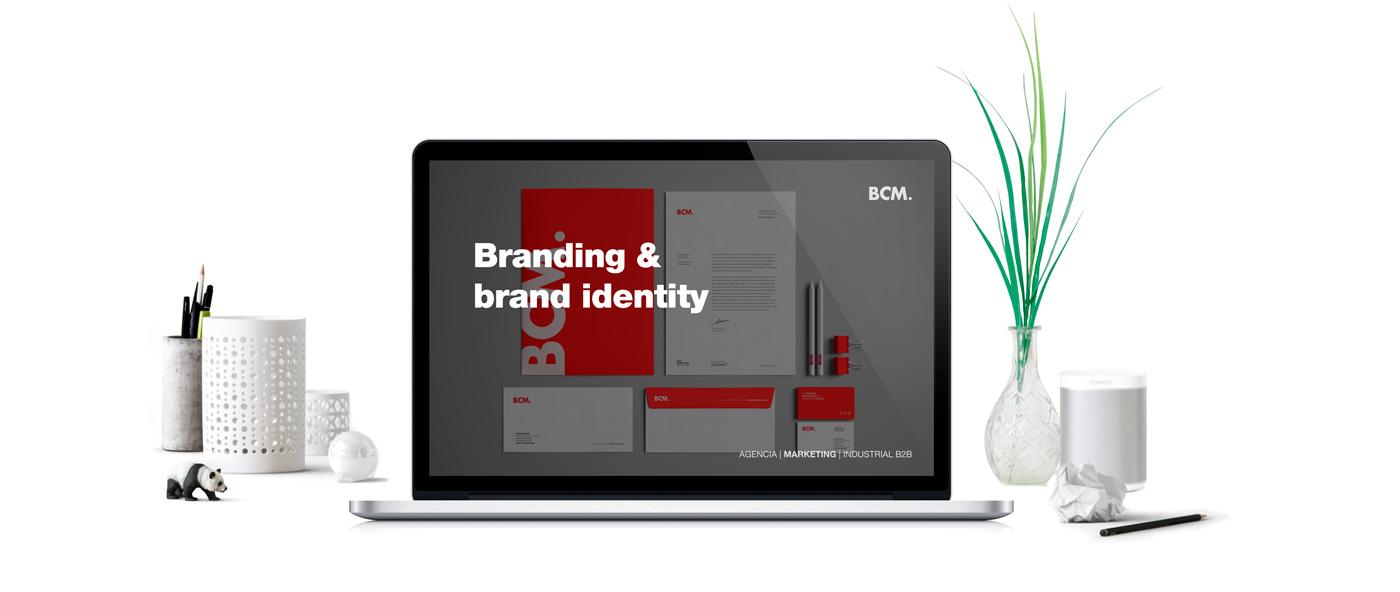 BCM Marketing B2B - Marketing 360 - Branding and brand identity