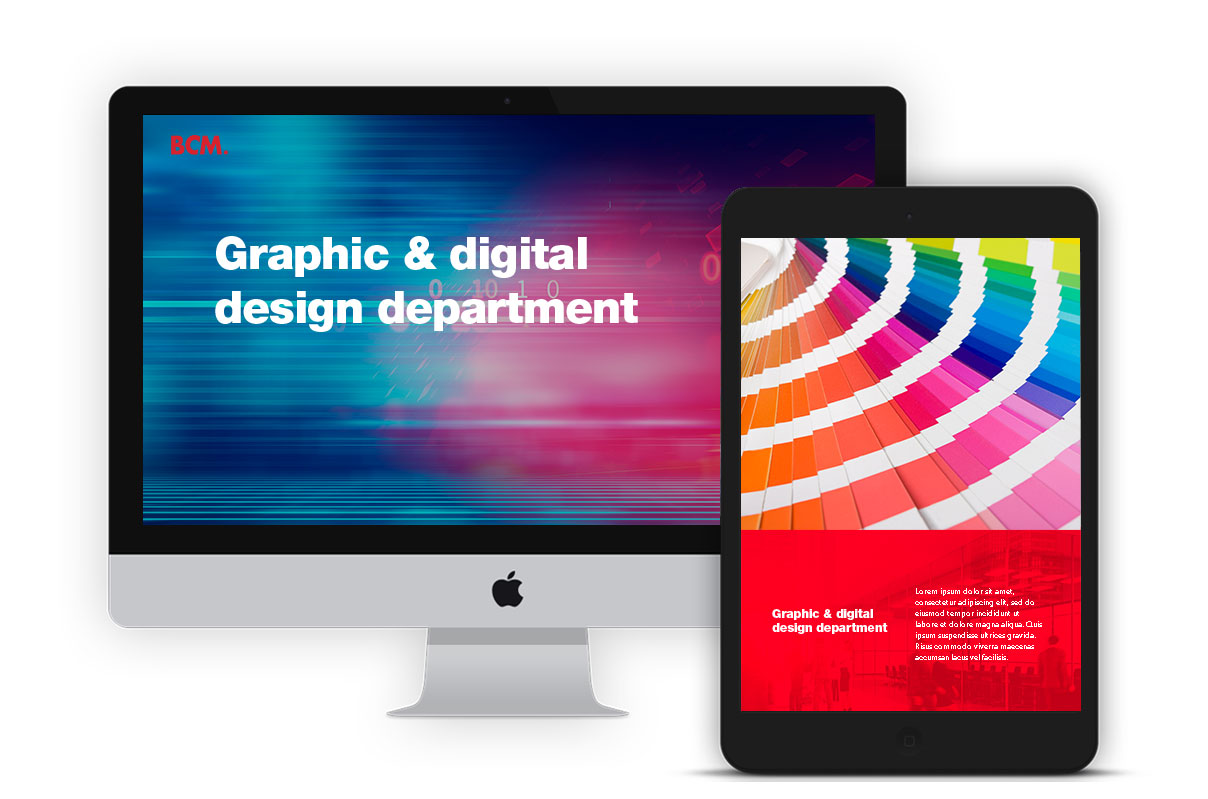Graphic and Digital Design - BCM Marketing B2B