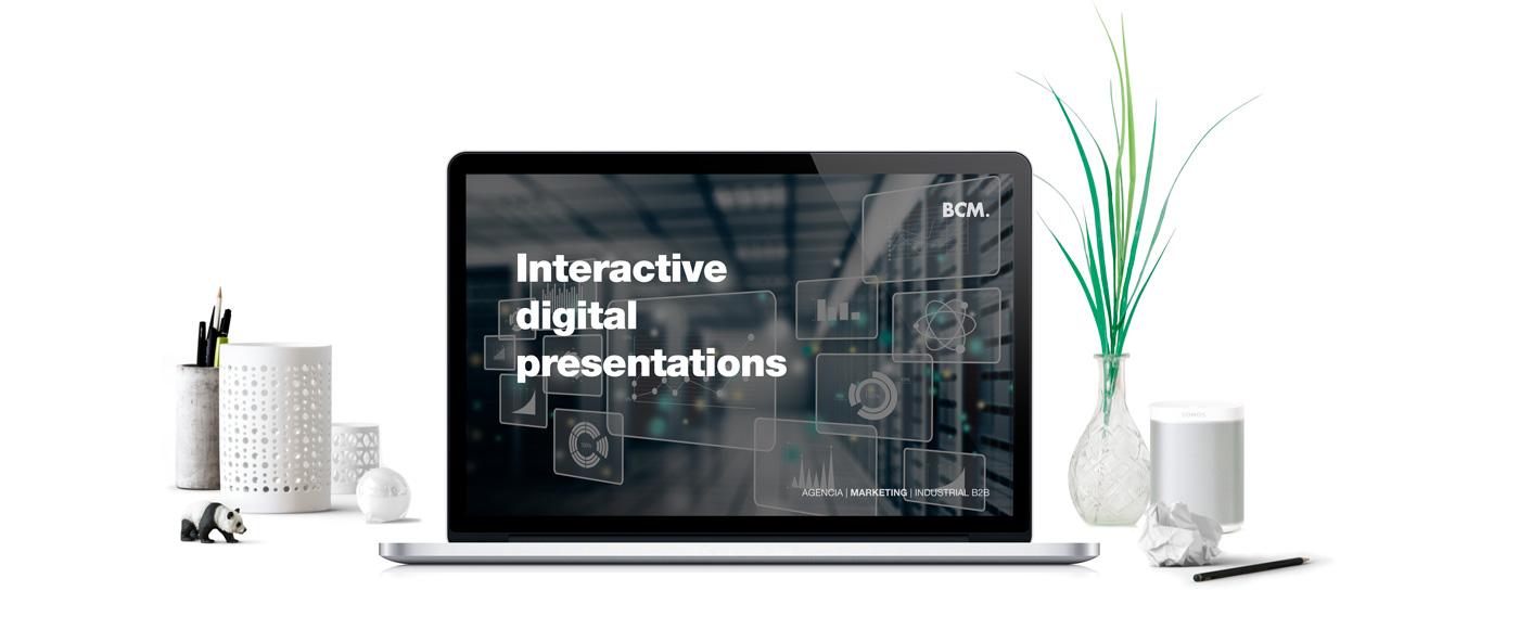 Digital Presentations - Marketing 360 - BCM Marketing B2B