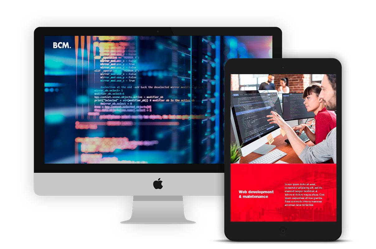 Web Development and Maintenance - Marketing 360 - BCM Marketing B2B